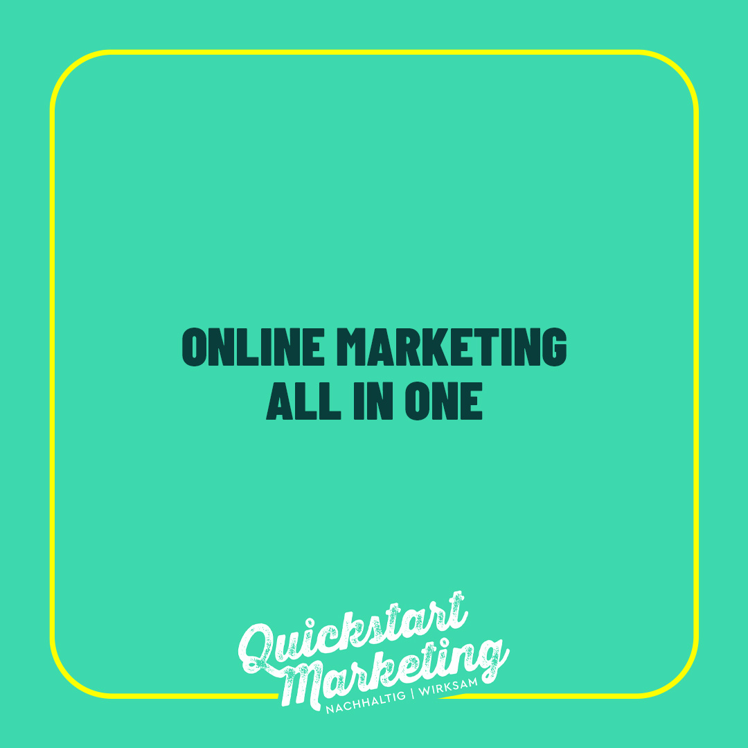 ONLINE MARKETING ALL IN ONE