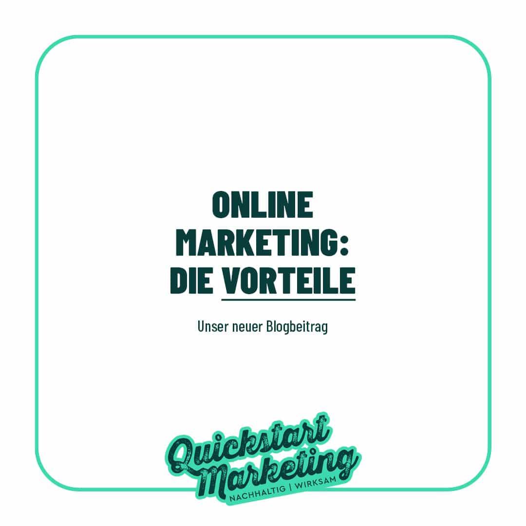Die Vorteile von Online Marketing